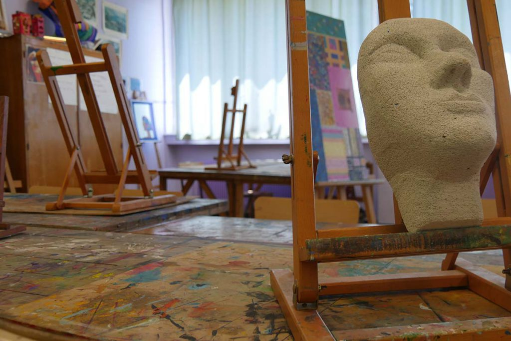 L'école municipale des arts plastiques