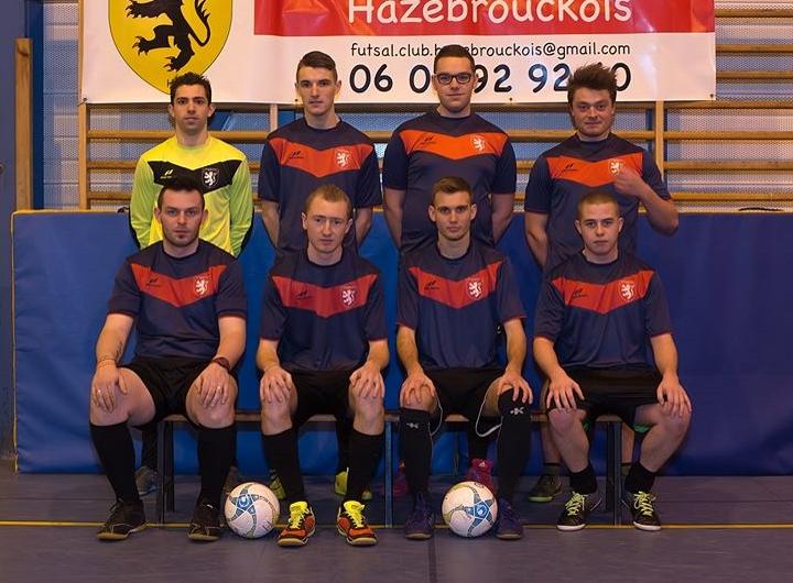 L'équipe 1 du Futsal Club Hazebrouckois