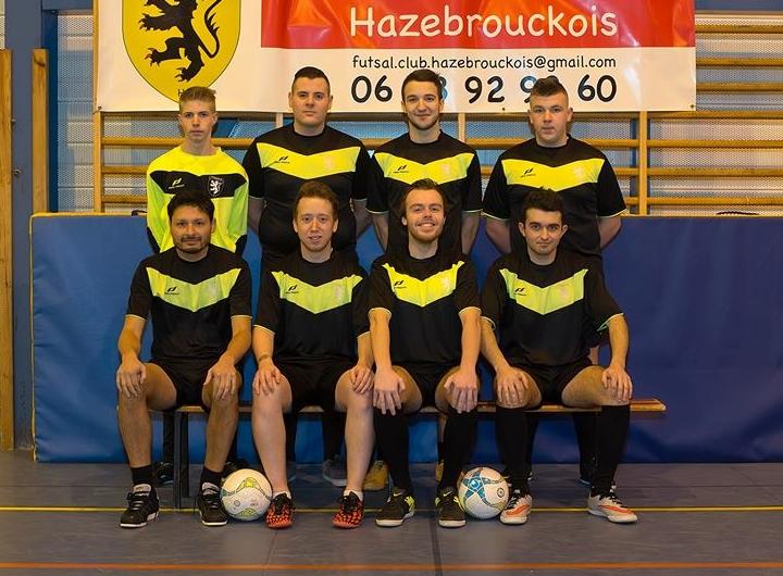L'équipe 2 du Futsal Club Hazebrouckois