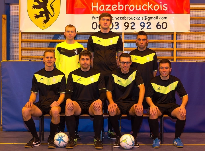 L'équipe 3 du Futsal Club Hazebrouckois