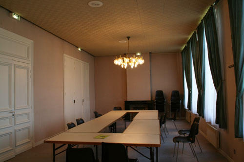 Le salon d'honneur d'Espace Flandre