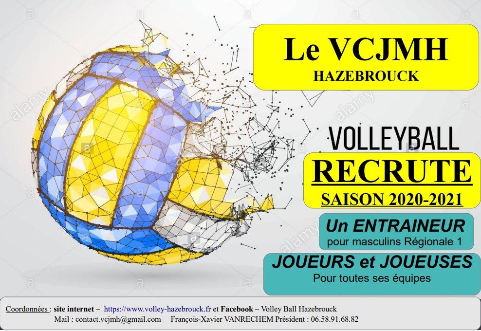 Le Volley club Jean Macé recrute de nouveaux joueurs