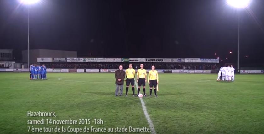 Coupe de France 2015, 7e tour, SC Hazebrouck – FCM Aubervilliers.