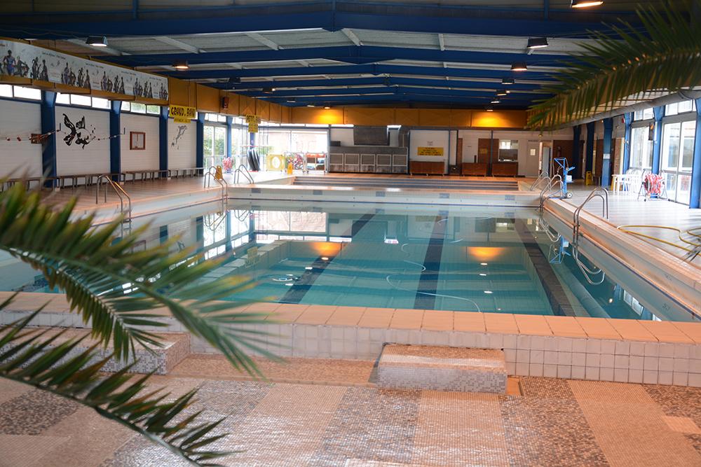 Fermeture de la piscine pour nettoyage