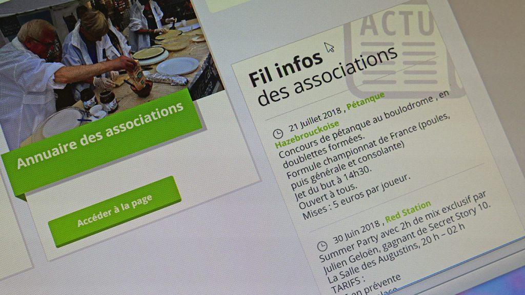 Associations : communiquer grâce au site de votre ville
