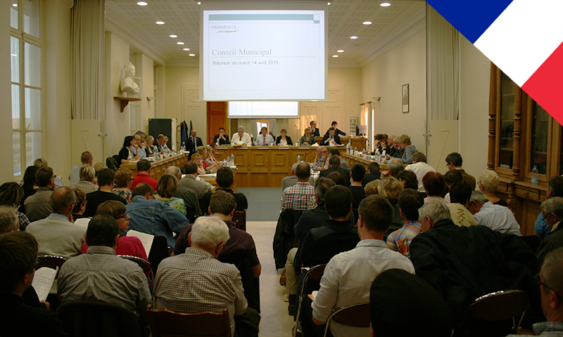 conseil municipal hazebrouck