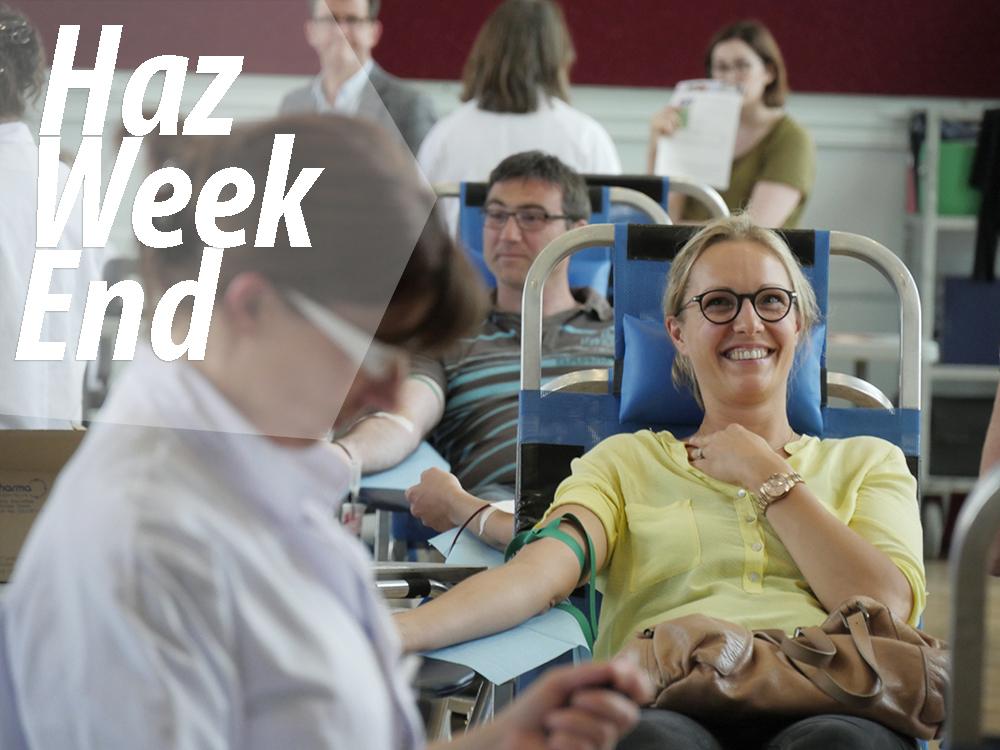 #HazWeekEnd des 13 et 14 février