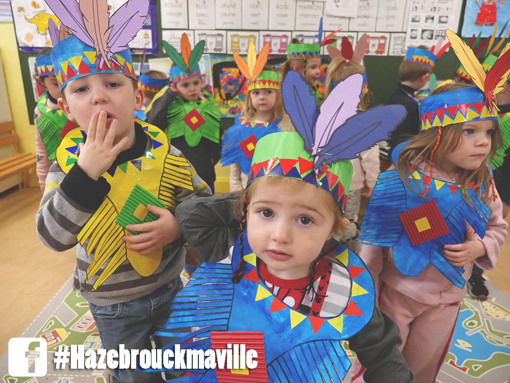 L'école Pasteur fait son carnaval avec le jardin des enfants