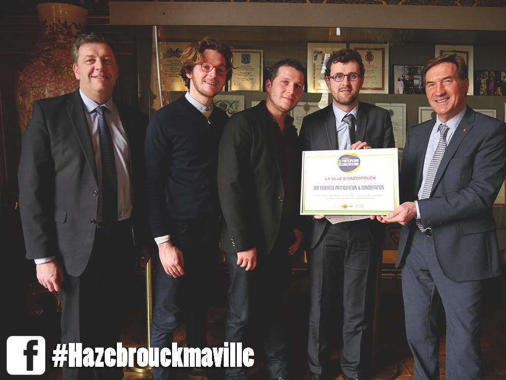 Hazebrouck lauréate au niveau national en matière de démocratie participative