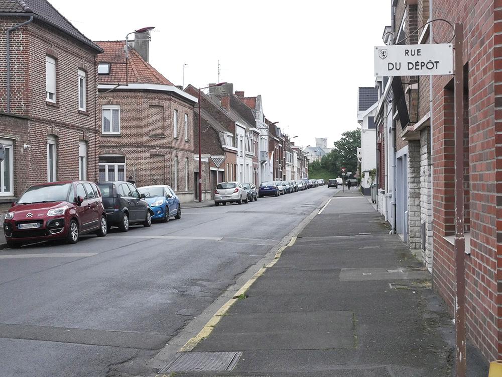 Travaux de voirie rue du Dépôt et sur une partie de la rue d'Hondeghem
