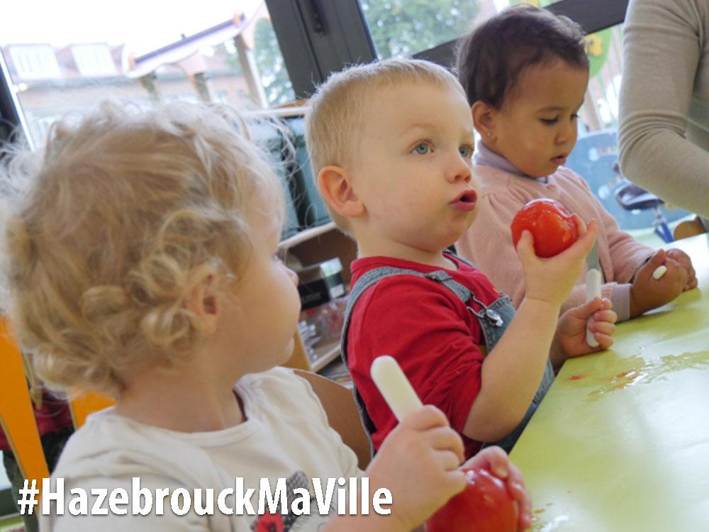 La semaine du goût au Jardin des enfants