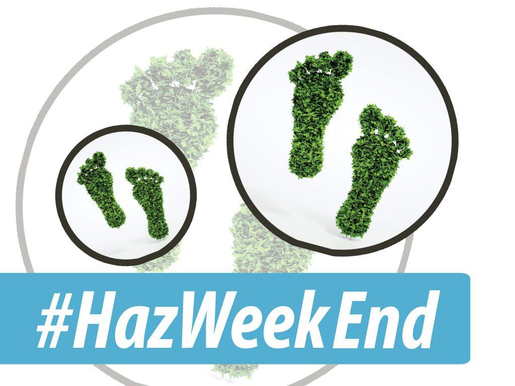 #HazWeekEnd des 8 et 9 octobre