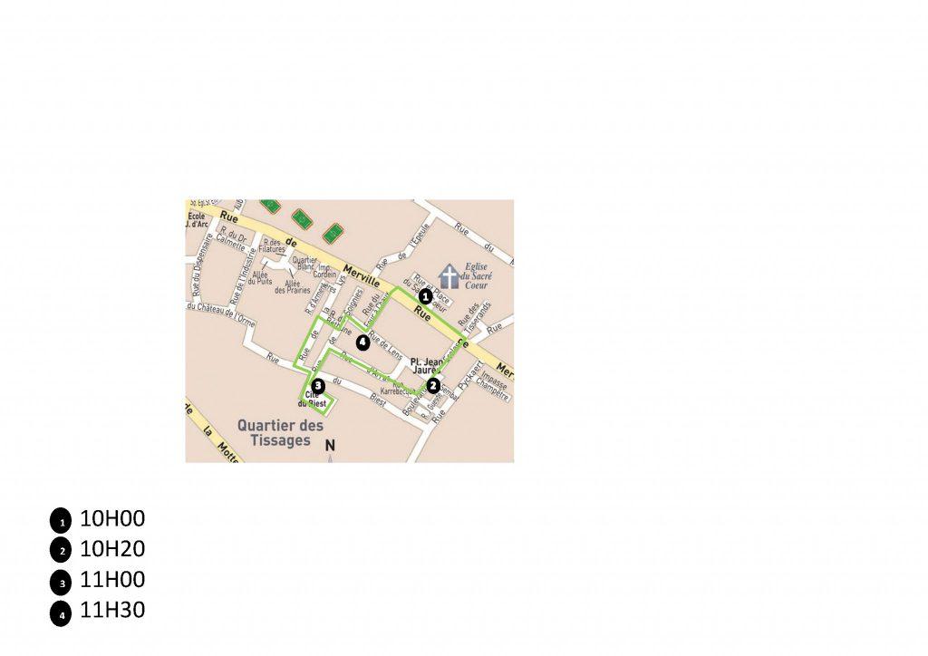 parcours quartier Tissage