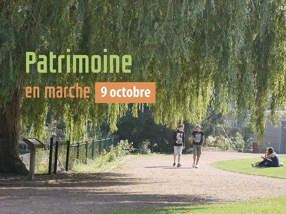 Patrimoine en marche : Rendez-vous le dimanche 9 octobre !
