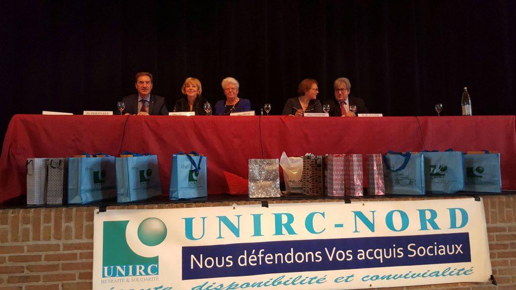 L'UNIRC s'est rassemblée à l'Espace Flandre