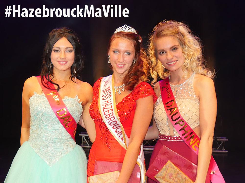 Margaux Vermeulen élue Miss Hazebrouck