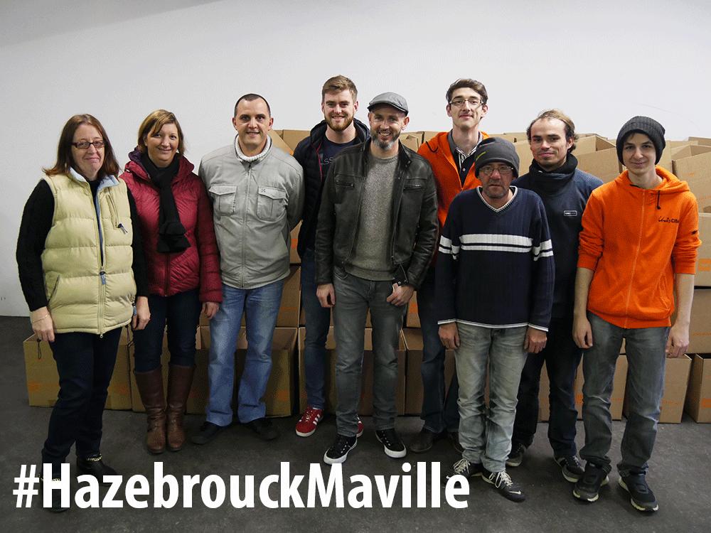 Vif succès de la collecte alimentaire à Hazebrouck !