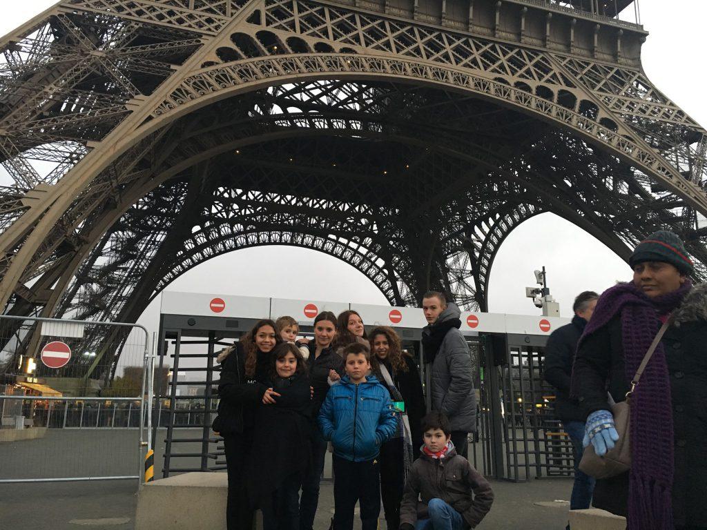 Visite à Paris des enfants, dispositif DRE