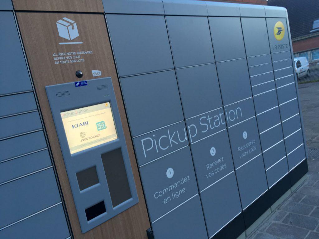 Une Pickup Station en gare d'Hazebrouck pour retirer vos colis