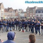 600 élèves mobilisés pour le flash mob de Saint-Jacques