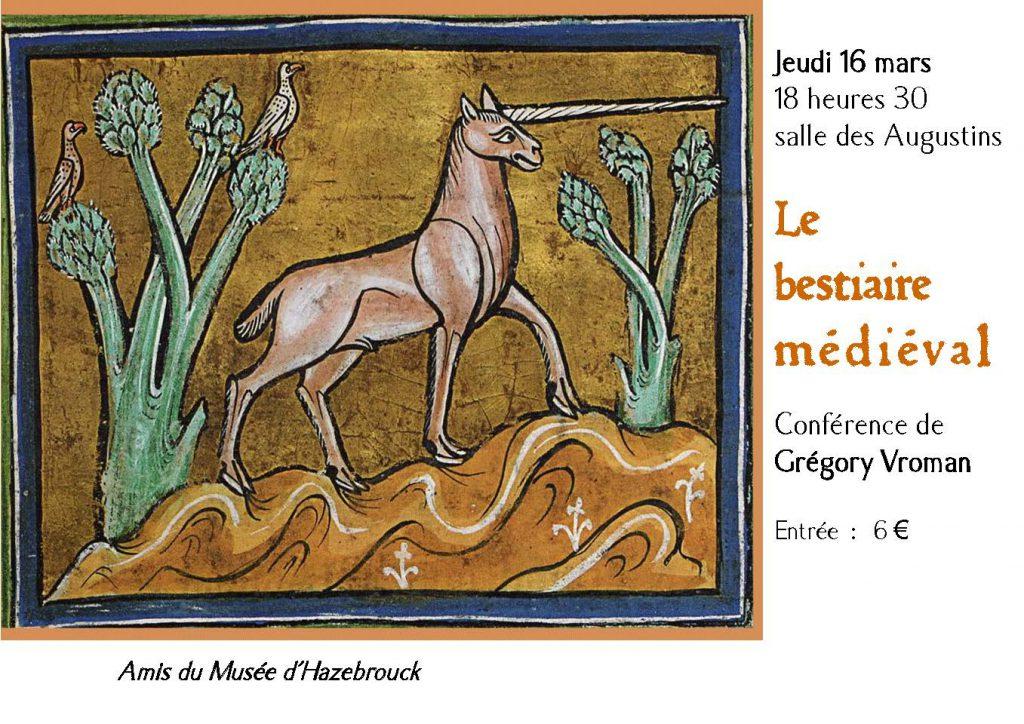 Conférence : «Le Bestiaire médiéval»