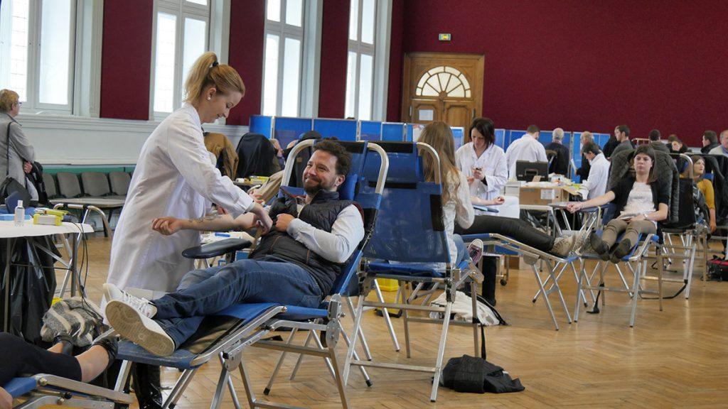 Donnez votre sang les 6 et 7 août