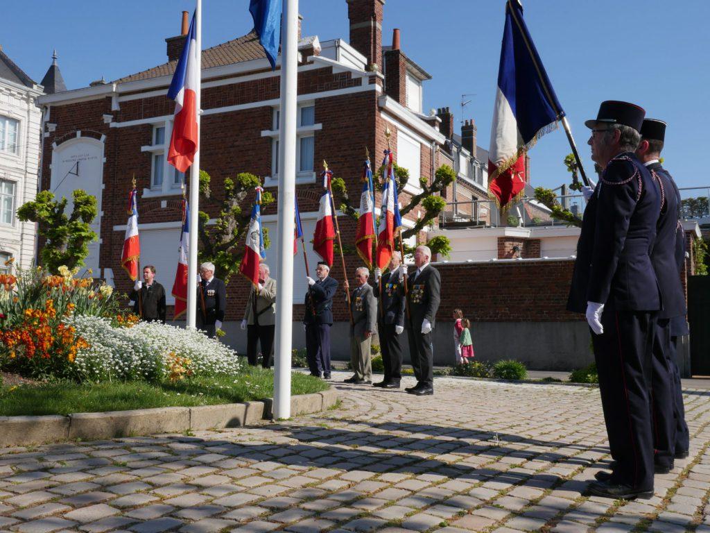 Commémoration Armistice 1945
