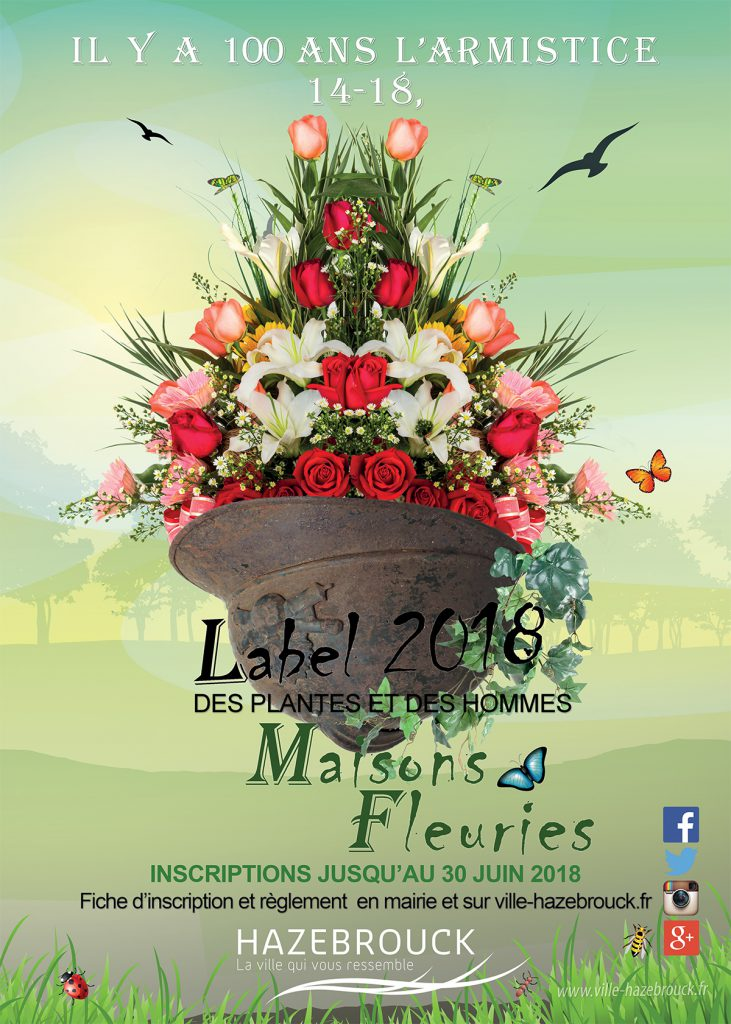 Label des maisons fleuries 2018 : les inscriptions sont ouvertes !