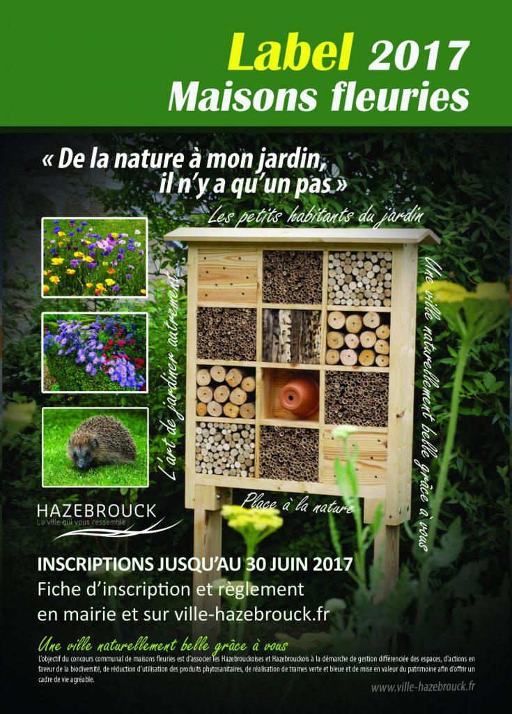 Label des maisons fleuries 2017 : les inscriptions sont ouvertes !