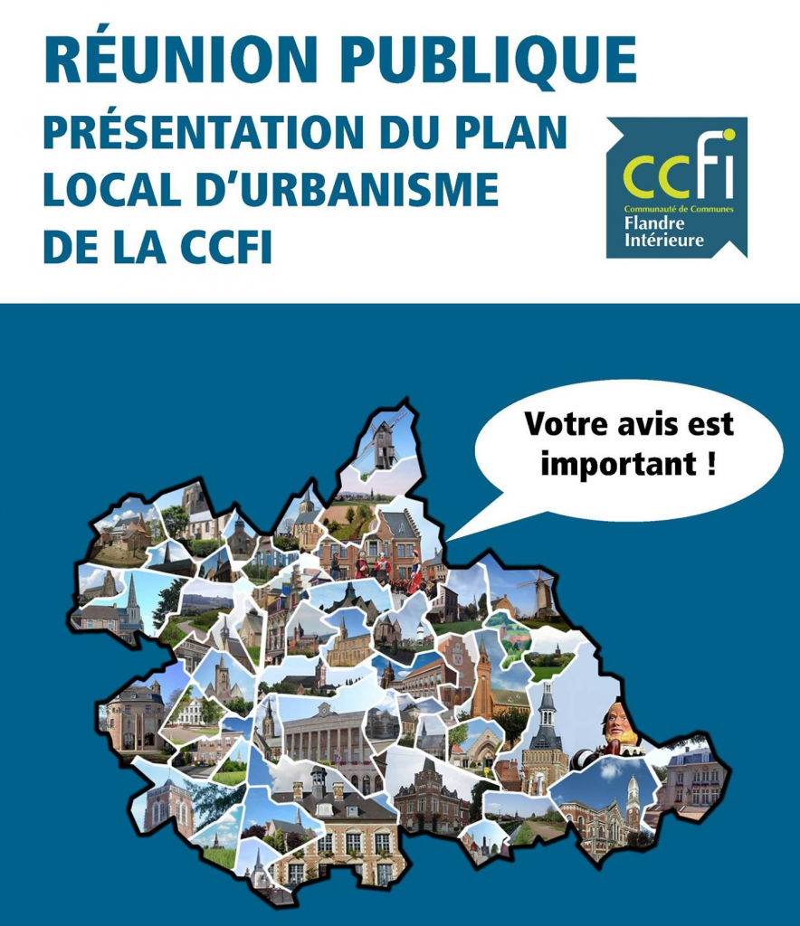Réunion publique : donnez votre avis sur le PLUi de la CCFI