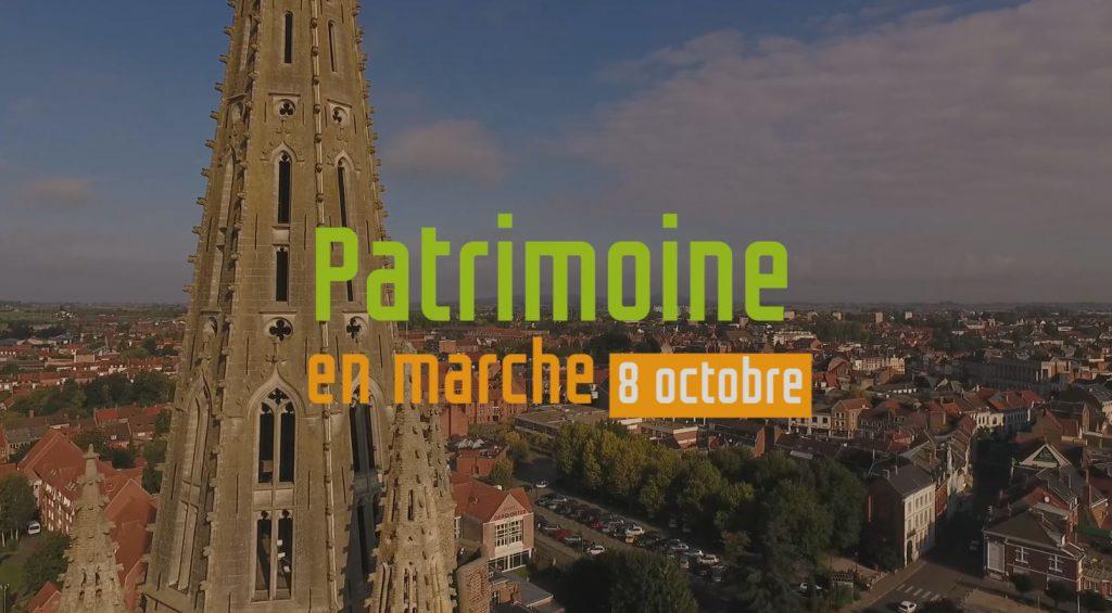 Patrimoine en marche – Découvrez la ville autrement le 8 octobre !