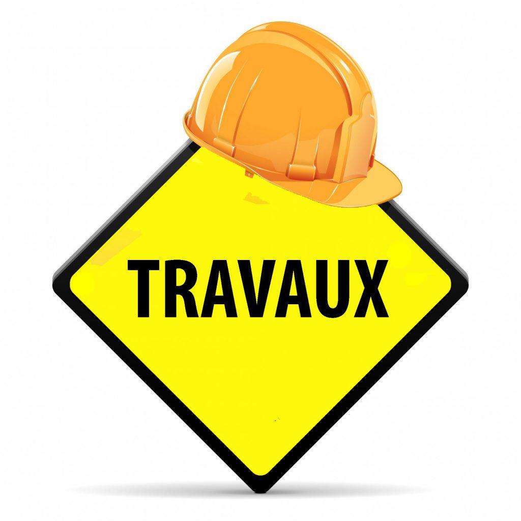 Travaux de voirie rue de l'Hôpital, avenue Masson Beau et rue de la Rochelaise