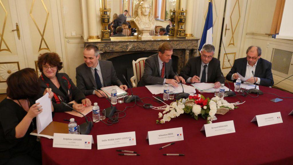 CLSPD : signature de 3 conventions entre la Ville et 3 partenaires