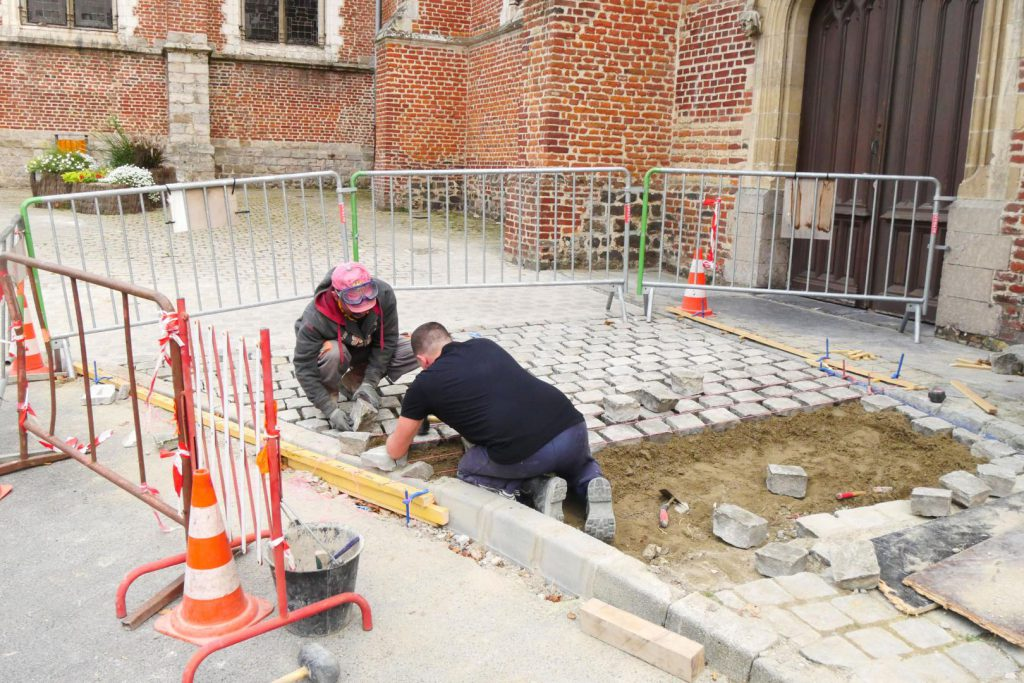 L'église Saint Eloi désormais plus accessible