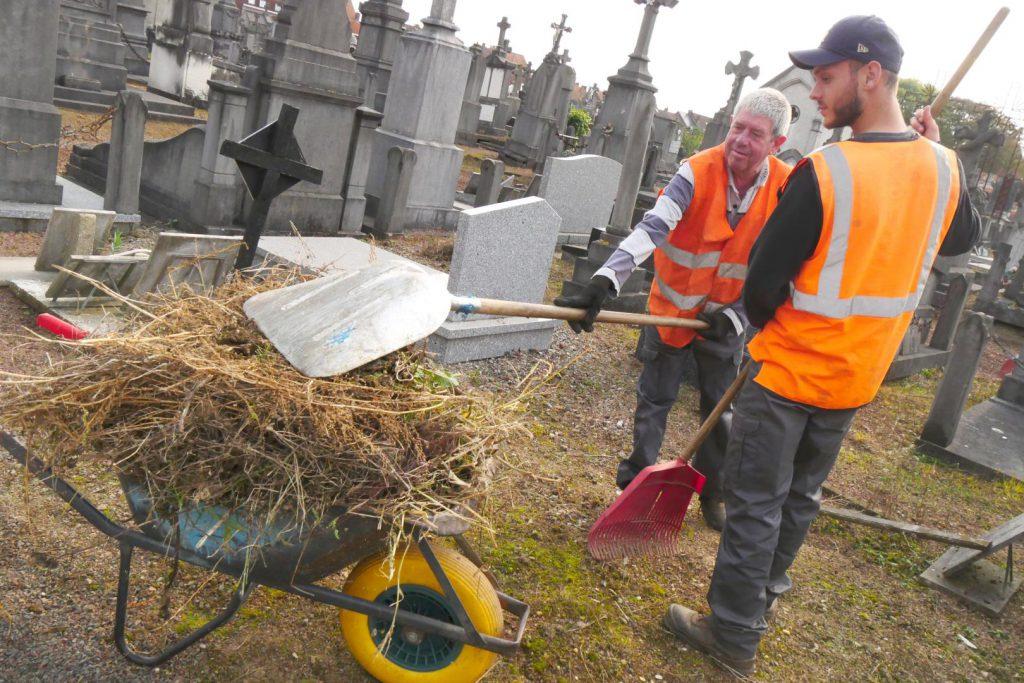 Un nouveau traitement pour le cimetière Saint Eloi