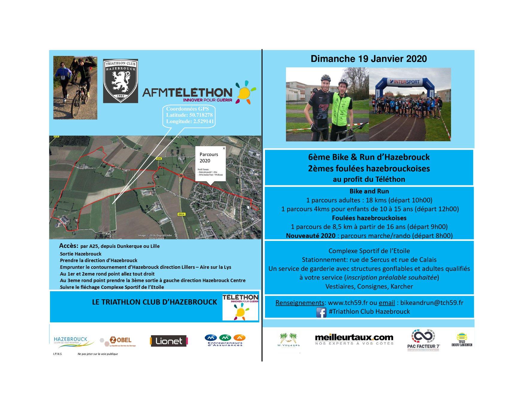 Run And Bike 2020 Ville D Hazebrouck