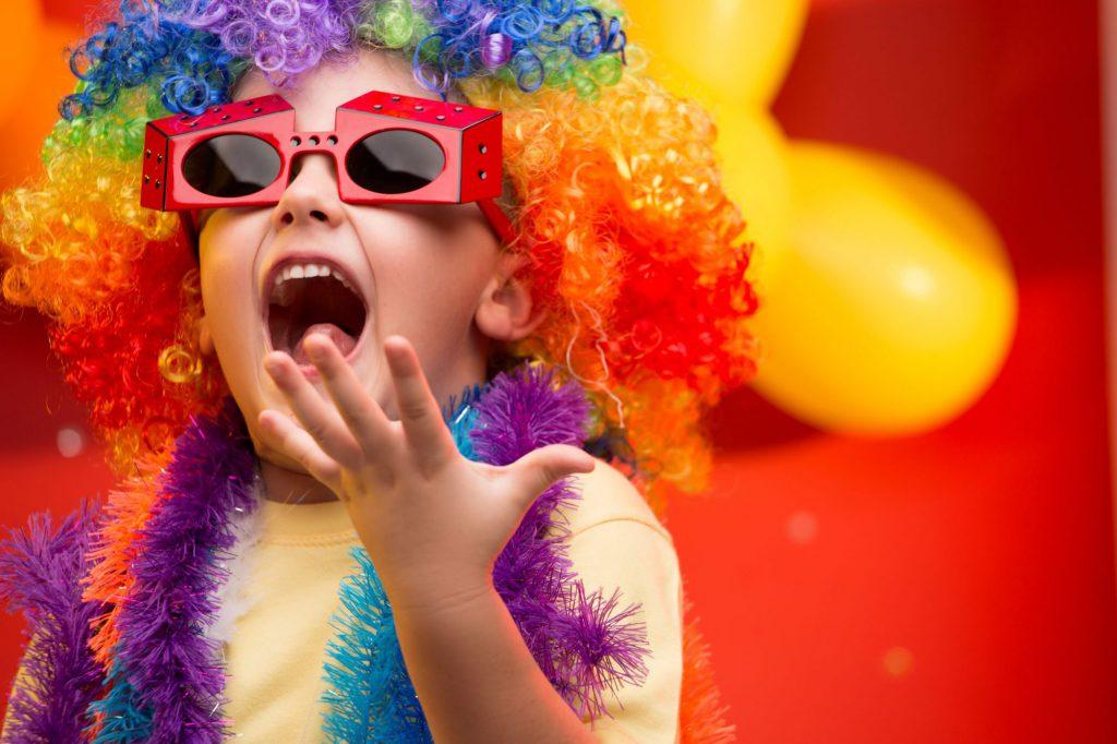 Bal de carnaval pour les enfants