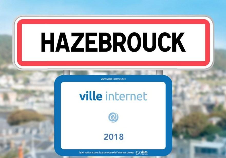 Hazebrouck devient Ville Internet @@ 2019