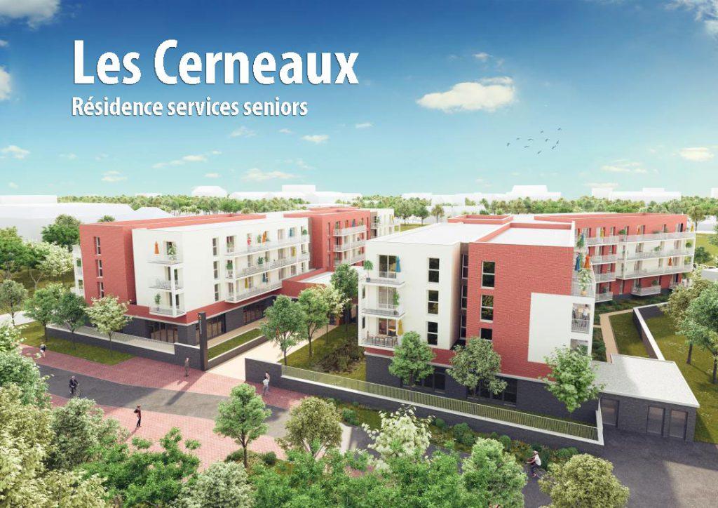 Découvrez le projet de résidence services seniors «Les Cerneaux»