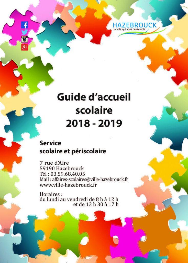 Guide d'accueil scolaire 2018-2019