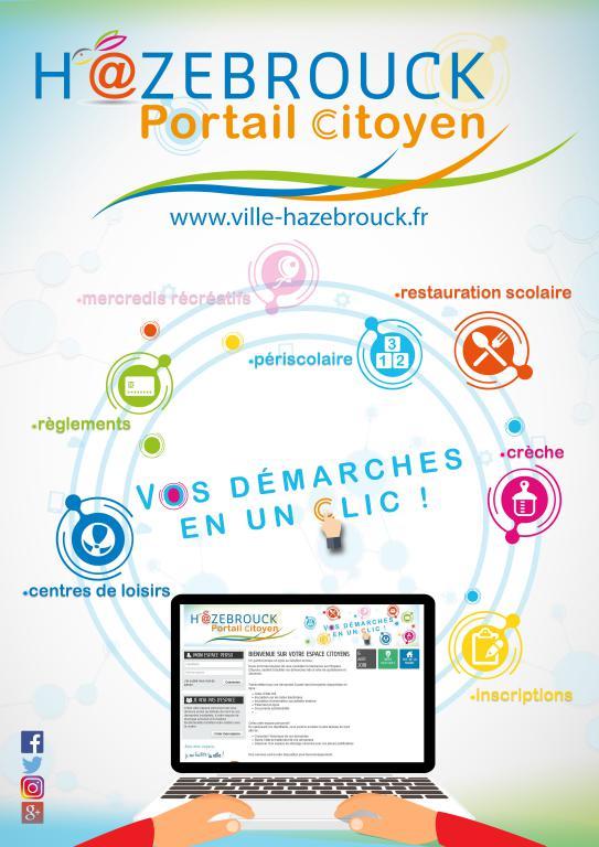 Hazebrouck portail citoyen : mode d'emploi