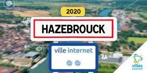 Hazebrouck conserve ses @@ au label Ville Internet