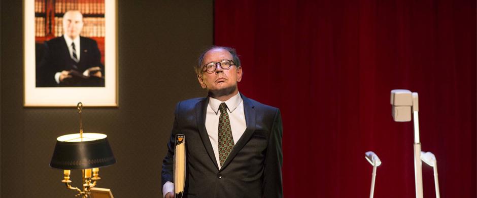 Théâtre : «MOI ET FRANÇOIS MITTERRAND»