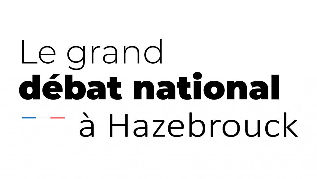 Le grand débat national à Hazebrouck