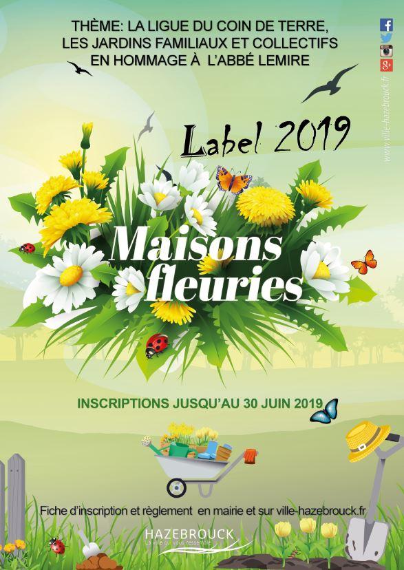 Label des maisons fleuries 2019 : les inscriptions sont ouvertes !