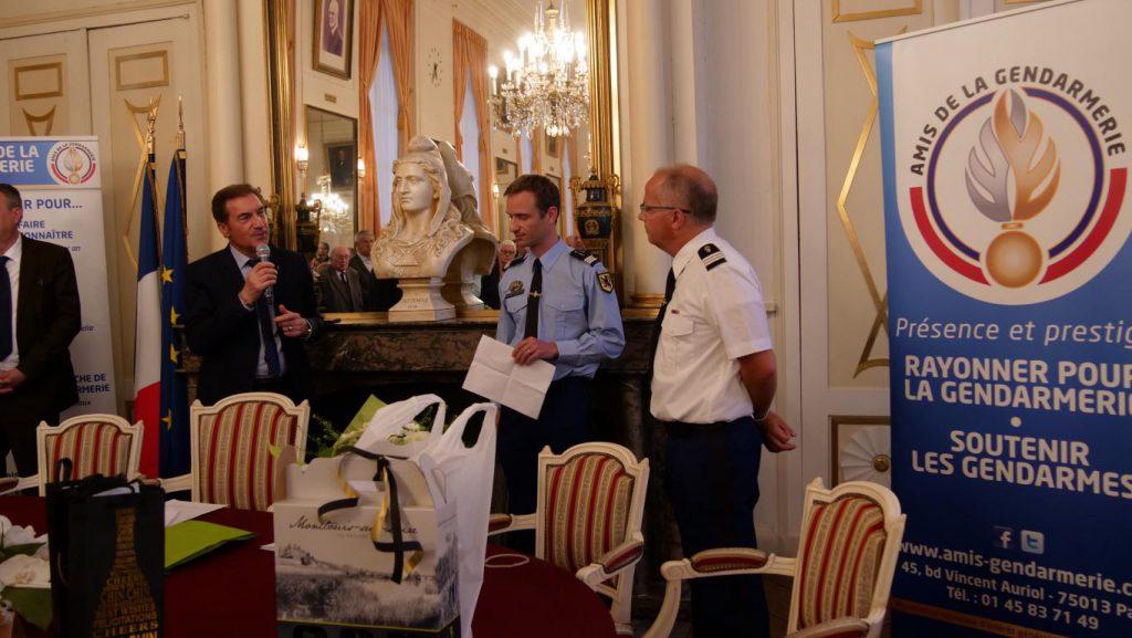 Départ du capitaine de gendarmerie Thirez