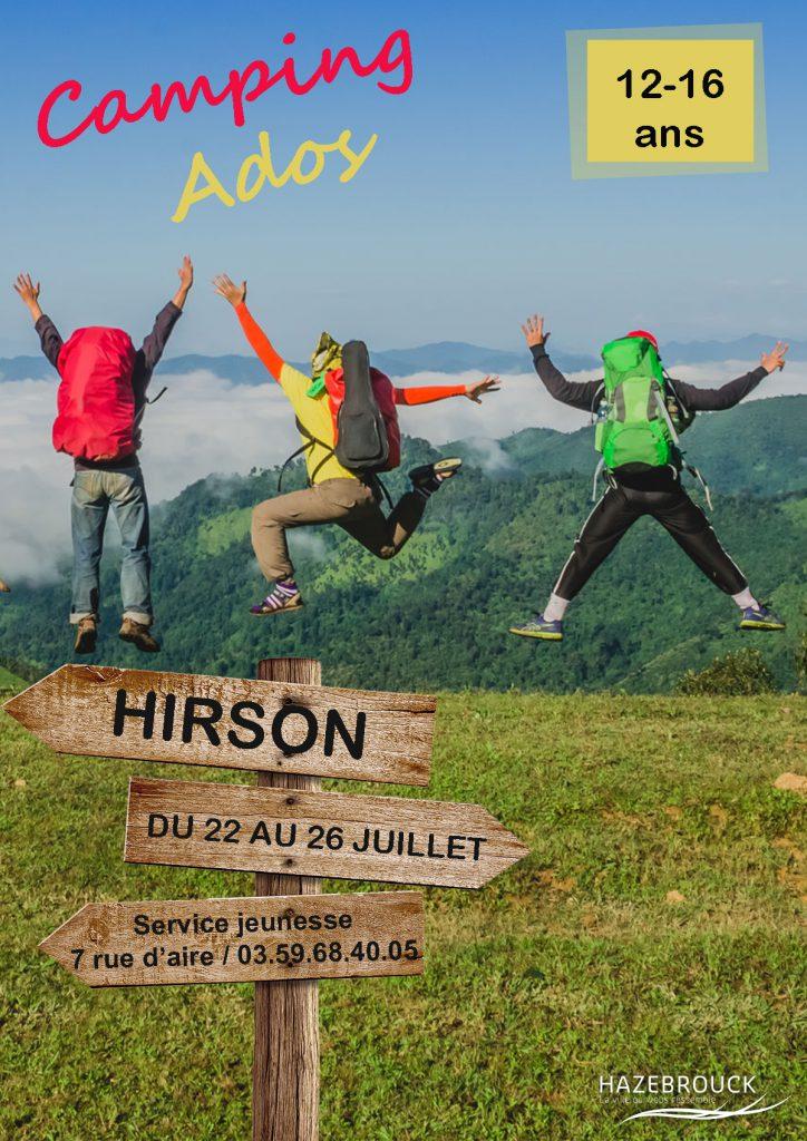 Camp ados à Hirson