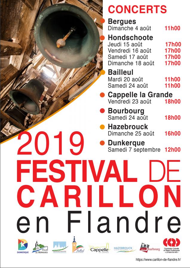 Festival de carillon en Flandre