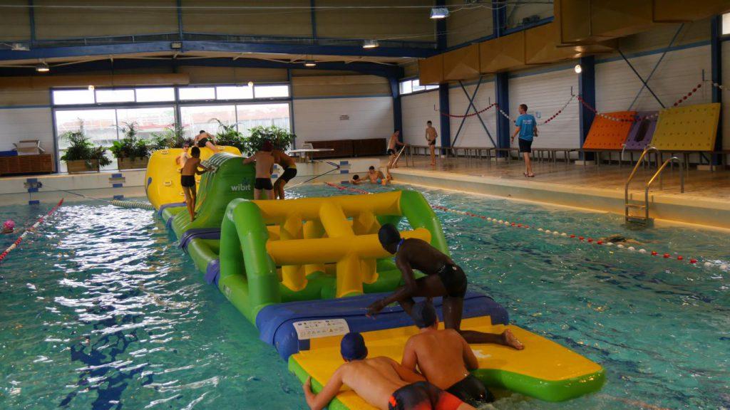 La piscine s'adapte aux besoins de ses usagers
