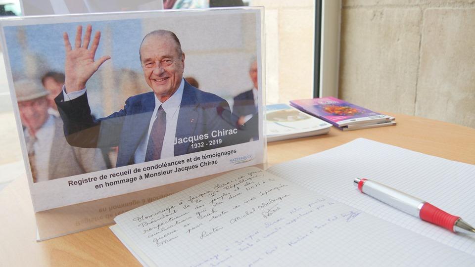 La Ville rend hommage à Jacques Chirac